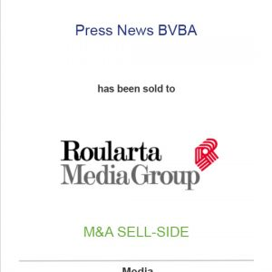 Press News BVBA has been sold to Roularta Media Group