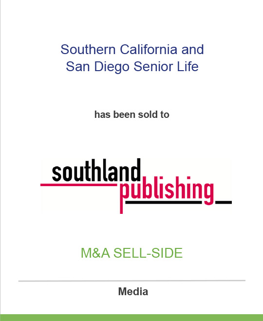Shamrock Holdings has sold Southern California Senior Life and San Diego Senior Life to Southland Publishing