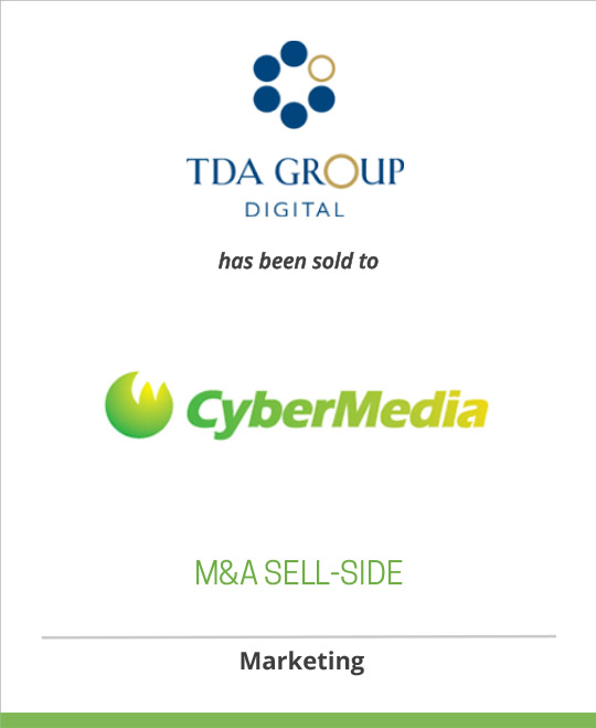 The TDA Group was sold to CyberMedia