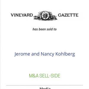 The Vineyard Gazett has been sold to Jerome and Nancy Kohlberg