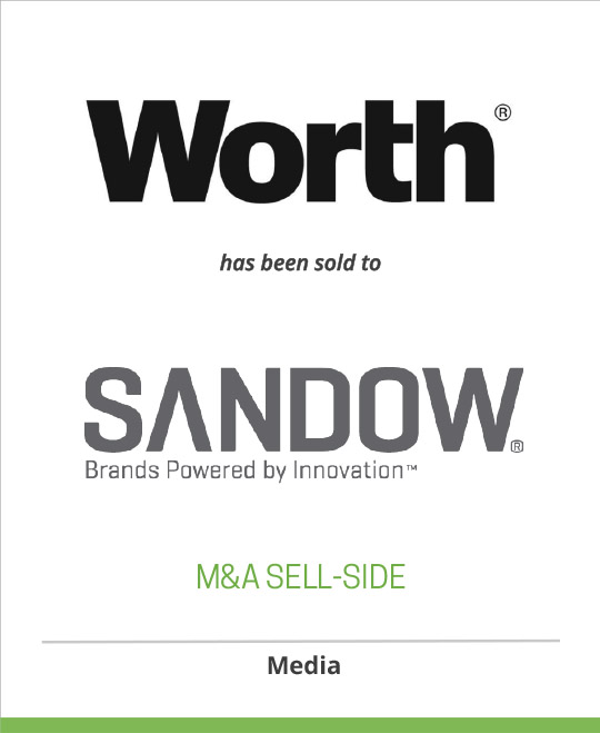 CurtCo Media has sold Worth Magazine to Sandow Media