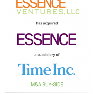 Essence Ventures, LLC has acquired Essence Communications Inc. from Time Inc.