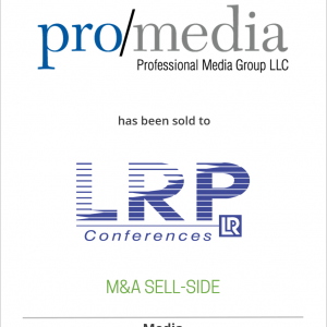 Professional Media Group, LLC has been sold to LRP Conferences, LLC