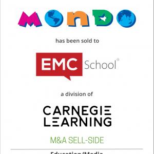 Mondo Publishing has been sold to EMC School