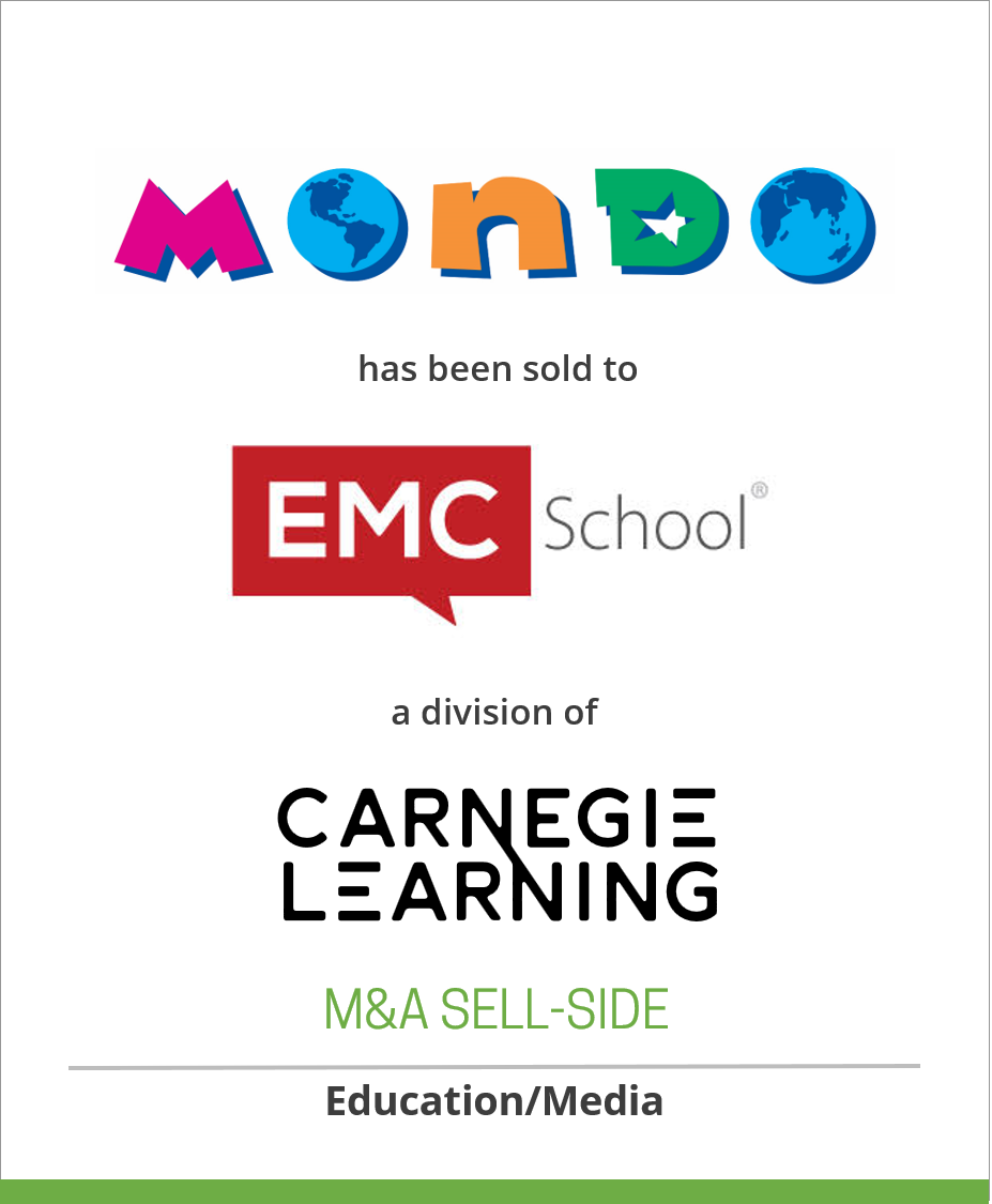 Mondo Publishing has been sold to EMC School
