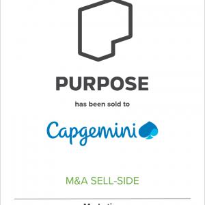 Social Impact Firm Purpose Joins Capgemini