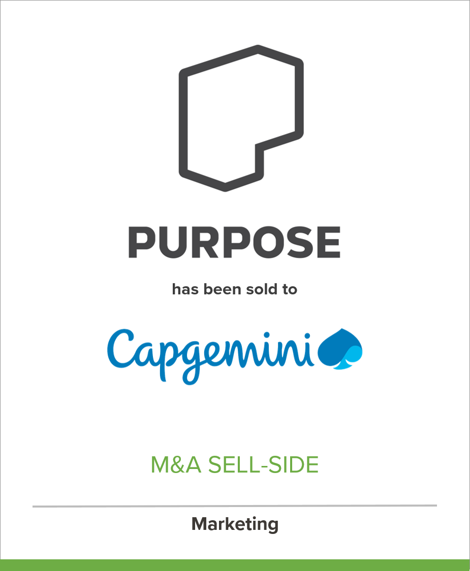 Social Impact Firm Purpose Joins Capgemini