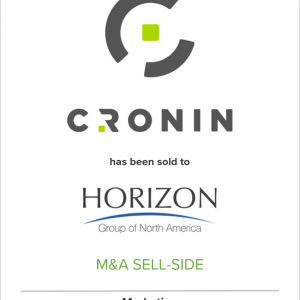 Cronin Joins Horizon North America