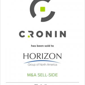 Cronin Joins Horizon North America