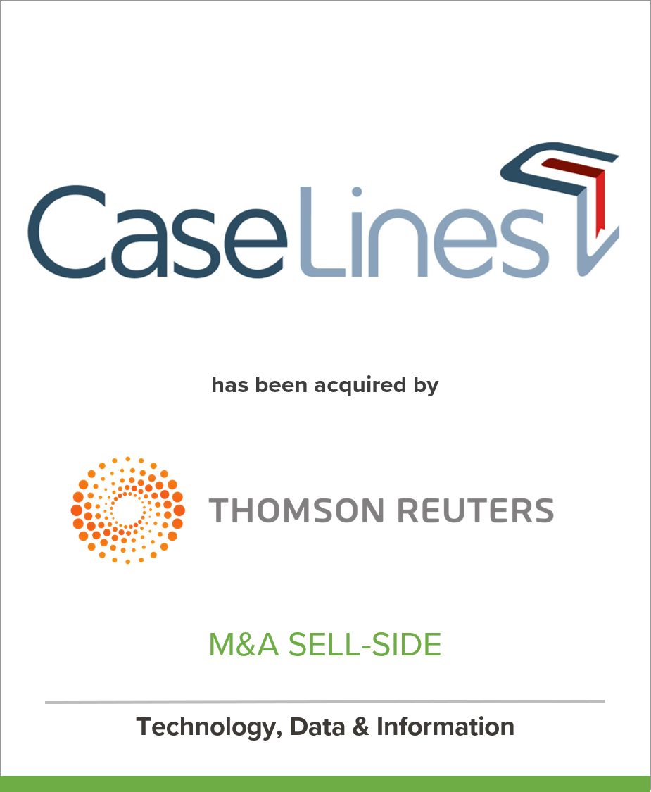 CaseLines acquired by Thomson Reuters
