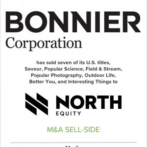 Bonnier Corp. Sells Seven of Its Most Popular U.S. Titles to North Equity