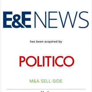E&E News Acquired by Politico