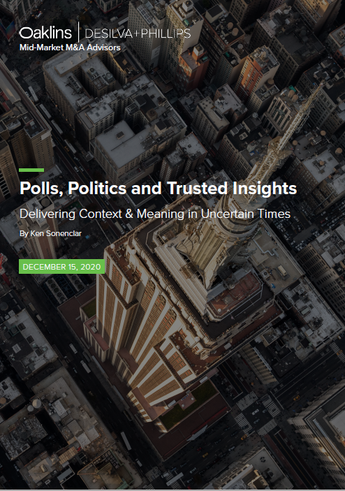 Polls, Politics and Trusted Insights: Delivering Context & Meaning in Uncertain Times