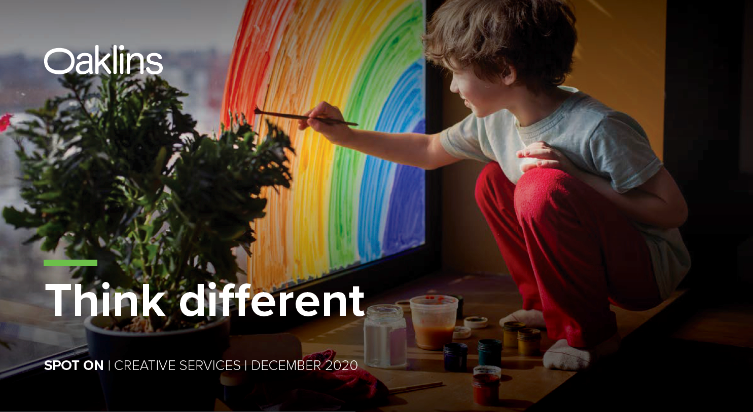 """Think Different"" a Report on Creative Agencies"