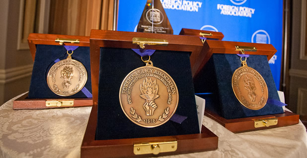 Reed Phillips Has Been Awarded the Foreign Policy Association Medal