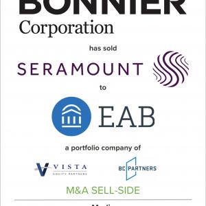 Bonnier Corp. Has Sold Seramount to EAB