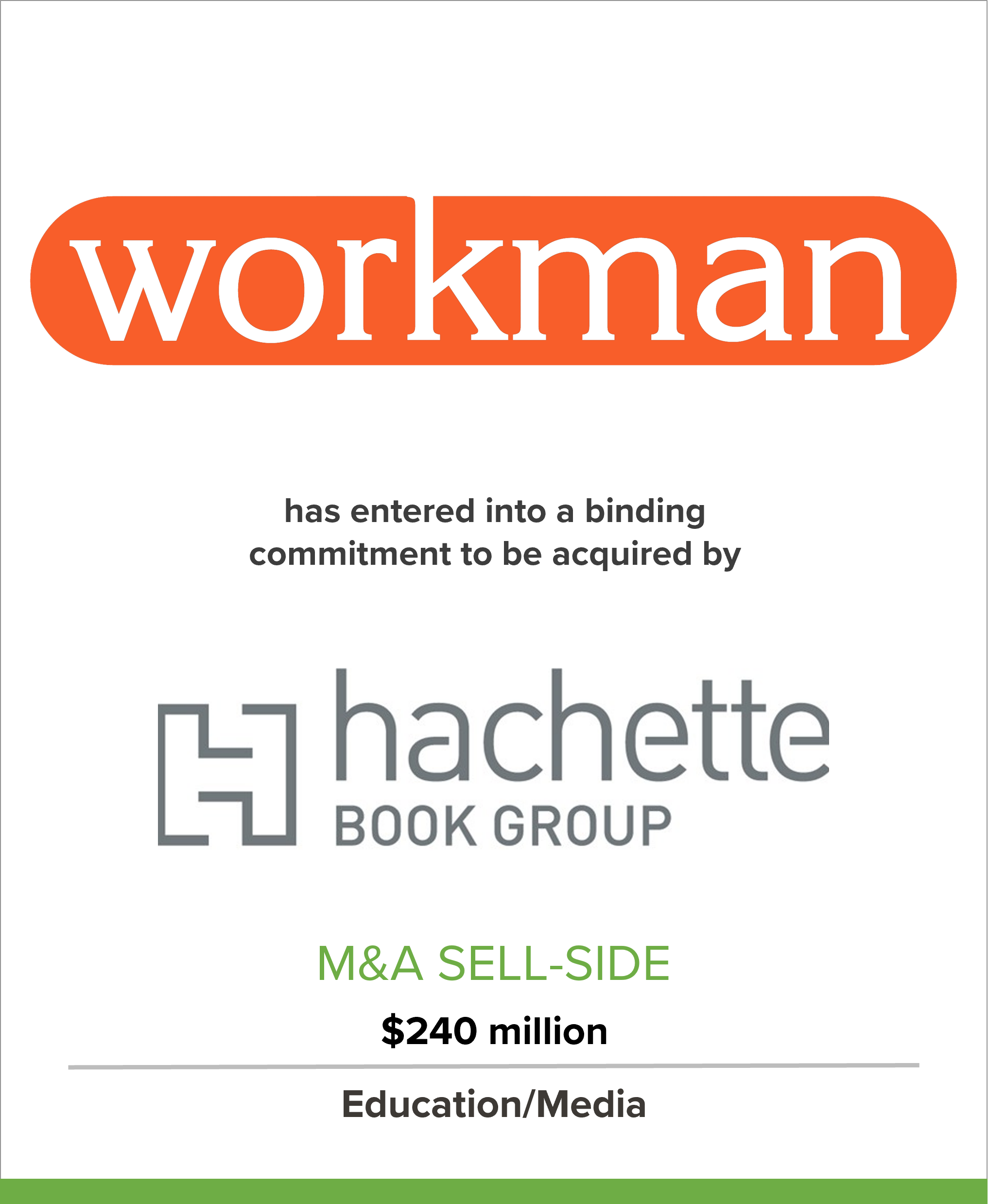 Workman Publishing to be Acquired by Hachette Book Group